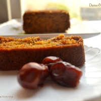 Dates & Carrot cake | Sugar free