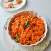 Carrot Kismuri | Konkani style salad