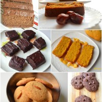 Collection of my healthy cake and cookie recipes
