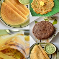 "Collection of ""no rice"" dosa recipes"
