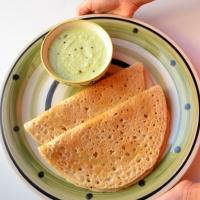 Little millet dosa | No rice dosa