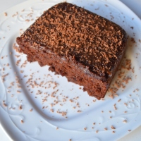 Chocolate Sponge Cake | Eggless, whole wheat, jaggery chocolate cake