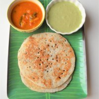Kali dosa | Soft and spongy dosas for lunch box