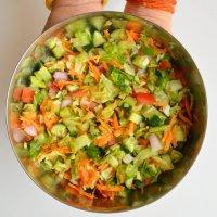 Mixed Vegetable Salad | Simple salad recipe