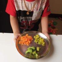 Healthy meal ideas - 1 | Snake gourd upkari, Broccoli fry, Carrot Kismuri